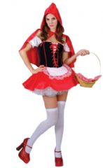 Red Hot Riding Hood Costume (SF0015)